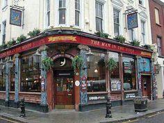 Man in the Moon Pub, London