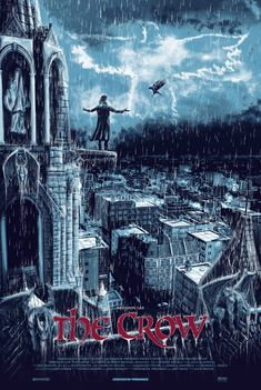 The Crow #alternative #movie #posters #art