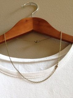 """*Re-listed* Sideways Cross Charm  Necklace - 18"""" by adieslovelies on Etsy, $11.00"""