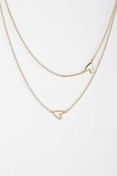 Heart It Double-Layer Necklace