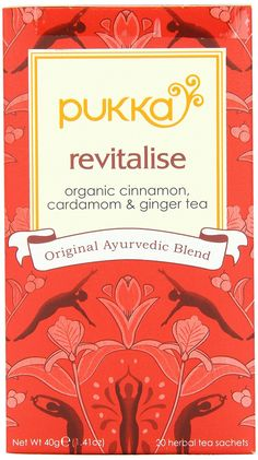Pukka Organic Teas, Revitalise, 20 Count (Pack of 6) >>> You can get additional details at the image link. (This is an affiliate link and I receive a commission for the sales)