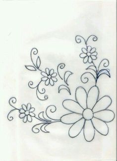 Drawings to embroider or paint tablecloths- Dibujos para bordar o pintar manteles Drawings to embroider or paint tablecloths - Mexican Embroidery, Crewel Embroidery, Hand Embroidery Patterns, Ribbon Embroidery, Beading Patterns, Cross Stitch Embroidery, Flower Patterns, Machine Embroidery, Fabric Painting