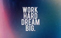 Motivational dream big Free HD Wallpaper