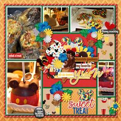 YUM  Credits: Template by Kellybell Designs - Pocket Simple Vol 2 - Template 4 Snack It Up, Snack It Up Page Starters, Snack It Up Journal Cards, and Snack It Up Word Flairs by Kellybell Designs