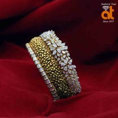 From Belly Rings To Tennis Bracelets, This Jewelry Advice Is King – Finest Jewelry Gold Ring Designs, Gold Bangles Design, Gold Jewellery Design, Diamond Jewellery, Diamond Mangalsutra, Designer Jewellery, Diamond Bracelets, Sterling Silver Bracelets, Bangle Bracelets