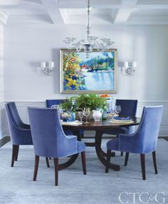 Try A Circular Table For Your Dining Space! Much Nicer Than A Rectangular  Shape For Tablewide Conversations Amongst A Large Group... For A Way To Mu2026