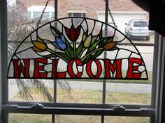 stained glass welcome - Yahoo Image Search Results