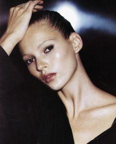Kate Moss for Mademoiselle Jan '94