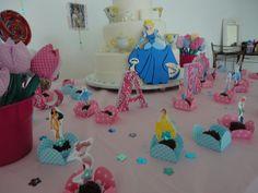 decoraçao festa infantil cha das princesas