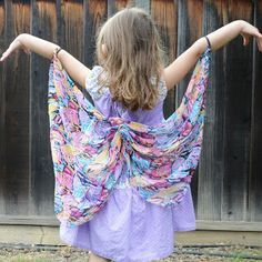 Kids' butterfly wings tutorial