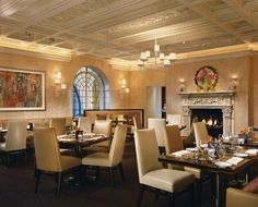 The Dining Room at Mansion Restaurant. - TownandCountryMag.com