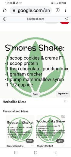 Herbalife Protein Powder, Herbalife Shake Recipes, Herbalife Nutrition, Smoothie Drinks, Smoothies, Herbal Life Shakes, 24 Day Challenge, Protein Powder Recipes, Healthy Food