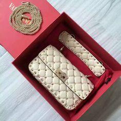 1cd9a21142 2016 F W Valentino Garavani Rockstud Spike Small Bag Sale Online
