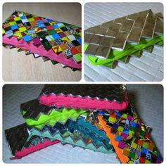 #candywrapper #purse #neon #fluor #multicolor