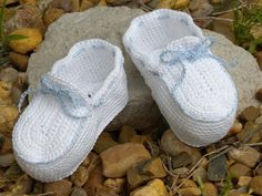 Clothing, Shoes & Accessories Crochet Christening Baby Infant Girl Booties Shoes White Wide Varieties Baby & Toddler Clothing