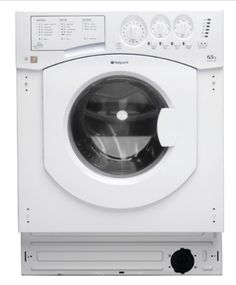 Hotpoint BHWM1292 - Fully Integrated Washing Machine, 1200rpm 7kg Integrated Washing Machine 1200rpm Max Spin Speed 7kg Wash Load