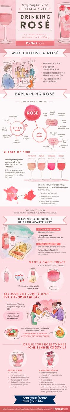 Everything You Need to Know About Drinking Rosé