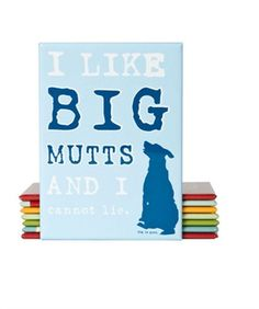 Big Mutts Inspired by Dog Magnet