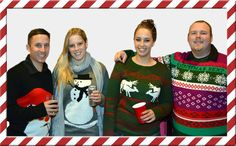 Its Christmas party season, don't forget your candy cane cocktail and your ugly christmas sweater. Check out JingleBallz.com