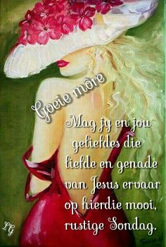 Goeie Nag, Goeie More, Living Water, Day Wishes, Afrikaans, Deep Thoughts, Good Morning, Qoutes, Decoupage