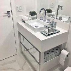 ideas bedroom design loft storage for 2019 Bathroom Interior Design, Interior Design Living Room, Loft Storage, Bad Inspiration, Trendy Bedroom, Beautiful Bathrooms, Small Bathroom, 50s Bathroom, Compact Bathroom