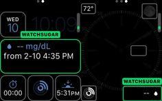 watchSugar: a complication for Dexcom's continuous glucose monitors