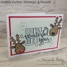 The Craft Spa - Stampin' Up! UK independent demonstrator : Wonderful Reindeer…