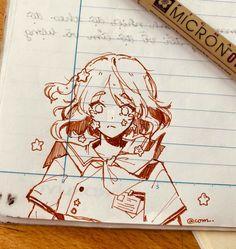 Art Inspiration Drawing, Sketchbook Inspiration, Art Sketchbook, Art Drawings Sketches Simple, Cool Drawings, Image Manga, Cartoon Art Styles, Copics, Character Drawing