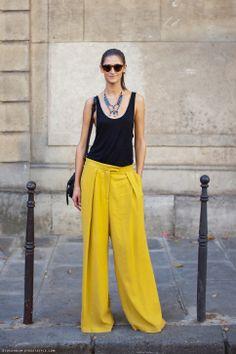 pantalon mostaza mujer - Buscar con Google
