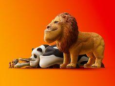 ライオンやパンダのアゴがくいっ 動物のアゴをしゃくれさせたガチャ「シャクレルプラネット」がキュンと来る - ねとらぼ