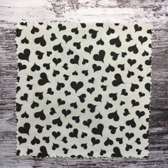 classic black hearts on white repeat pattern design, minimalist, timeless and perfect for modern Mother's Day, Valentine's Day, proposal and wedding events but also for every day life DIY sewing projects Fabric Design, Pattern Design, Diy Sewing Projects, Black Heart, Repeating Patterns, Wedding Events, Minimalist, Minimalism