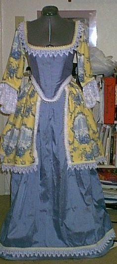 revesible Restoration Gown by customecostumer on Etsy, $600.00