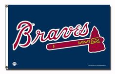 MLB Atlanta Braves 3-Foot x 5-Foot Banner Flag by Rico. $19.47. This Officially Licensed MLB 3'x5' Banner Flag is skillfully crafted by Rico for Indoor or Outdoor Use