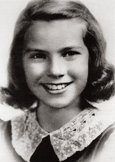 Grace Kelly at eight.