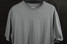 Duluth Trading XL Longtail Popular 100% Cotton Mens T Shirts gray FREE SHIPPING  #DuluthTradingCompany #TShirt