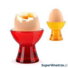Kieliszek na jajko Vialli Design Mio Livio żółty 5901638721334