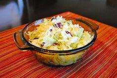 Невыразимая легкость кулинарного бытия...: Салат из капусты с яблоками и клюквой
