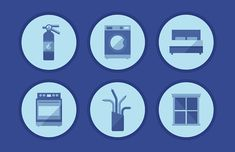 The Lifespan of 20 Essential Household Items [Infographic] Cement Countertops, Window Unit, Smoke Alarms, Steam Cleaning, Real Estate Tips, Electrical Wiring, Home Ownership, Window Cleaner, Luxury Living
