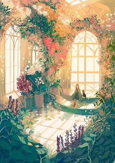 22 Ideas Beautiful Art Inspiration Fairytale For 2019 Illustration Manga, Illustrations, Pretty Art, Cute Art, Fantasy Landscape, Fantasy Art, Art Asiatique, Anime Scenery Wallpaper, Artistic Wallpaper
