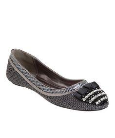 Loving this Passions Footwear Black Cheryl Flat on #zulily! #zulilyfinds