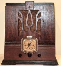 Antique Admiral Vintage Tube Radio in Tombstone Wood Cabinet Restored Working | eBay
