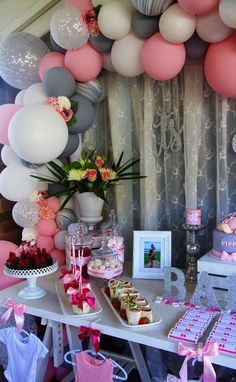 Buttons and Bows Baby Shower Party Ideas   Photo 1 of 13