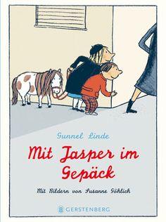 Gunnel Linde: Mit Jasper im Gepäck (Illustration: Susanne Göhlich)