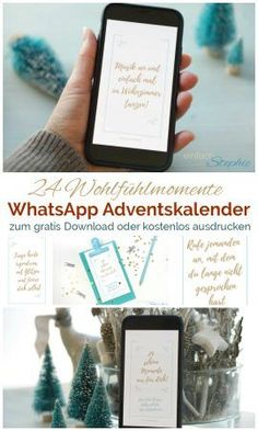 WhatsApp Advent Calendar: 24 moments of wellbeing send or print for free - pinnerish Christmas And New Year, Christmas Crafts, Christmas Decorations, Crafty Christmas Gifts, Gratis Download, Gift Box Design, Free Artwork, Christmas Preparation, Farmhouse Christmas Decor