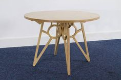 Small end/coffee table 18mm sustainable Birch Ply flat pack