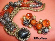 Vintage HOBE Bracelet and Earring Set - Vintage Hobe Jewelry Demi Parure
