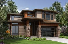 Five Bedrooms and a Bonus Room Too - 23629JD | Northwest, 2nd Floor Master Suite, Bonus Room, Butler Walk-in Pantry, Den-Office-Library-Study | Architectural Designs