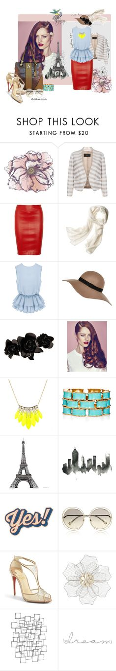 """""""Spring 2015"""" by dianasoleildesign on Polyvore featuring Universal Lighting and Decor, Paul Smith, Reed Krakoff, River Island, L. Erickson, Alexis Bittar, Ciner, WALL, Anya Hindmarch and Freebird"""