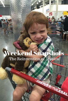 """Weekend Snapshots 38   Welcome to week 38 of Weekend Snapshots Link-Up (seriously where has the time gone this year?!?). This edition is brought to you by Jack's love of his Build-A-Bear Chase from Paw Patrol and his """"new hugging face."""" Seriously kid? Hugging face? Okay..... Make sure to join me and Ariana at 3twentysix at the end of this post to link up your Weekend Snapshots post and be sure to share the love!!!Saturday: Jack and I stayed home all day Saturday because Dennis was at work…"""