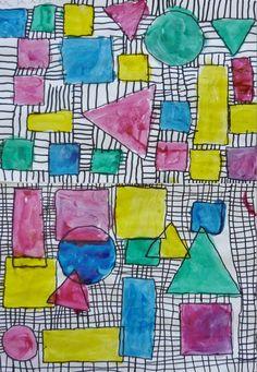 Trendy Geometric Line Art Math 48 Ideas Animal Art Projects, Homemade Art, Math Art, Kindergarten Art, Gcse Art, Geometric Lines, Elements Of Art, Art Plastique, Art Activities